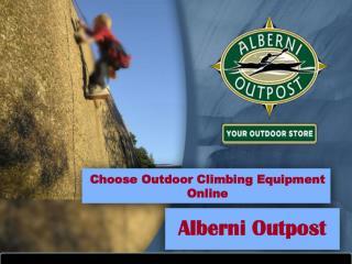 Outdoor Climbing Equipment Online