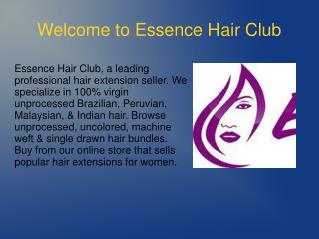 Essence Hair Club Review