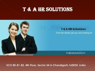 FMCG Job Consultants in Chandigarh
