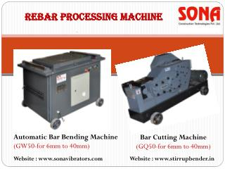 Sona launches latest construction machinery equipment & tool