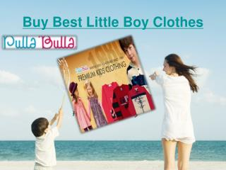 Little boy clothes/clothing