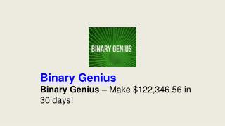 Binary Genius