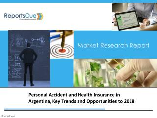 Personal Accident and Health Insurance in Argentina