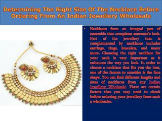 Indian Jewellery Wholesale