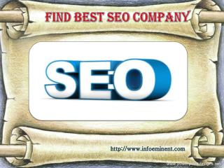 Infoeminent Technology is a Best Seo Company