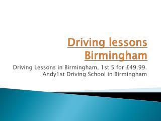 Driving lessons Birmingham | Driving school Birmingham