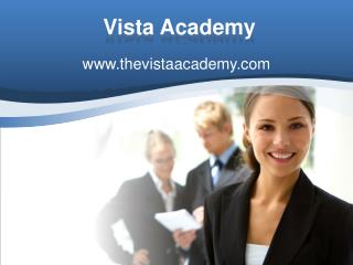 vista Academy accounts training academy