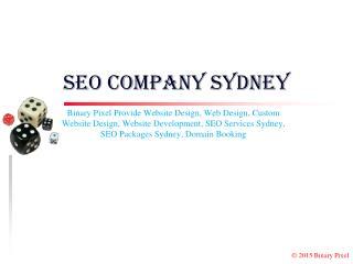 SEO Company Sydney