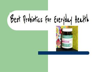 Best Probiotic Products
