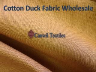 Canvas Fabrics Wholesale