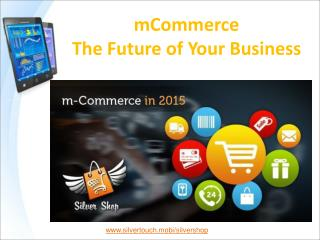 m-Commerce Mobile App gives boost to your Business