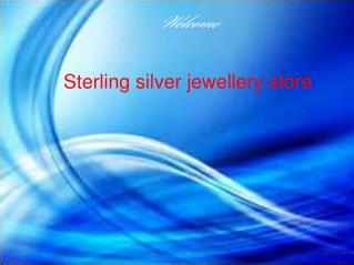 Sterling silver jewelery