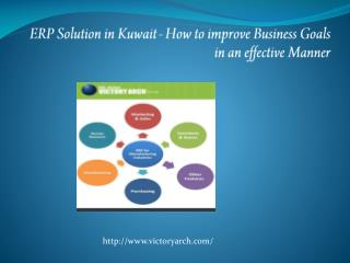 ERP Solution in Kuwait - How to improve Business Goals in an