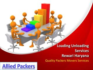 Loading Unloading Services Rewari Haryana