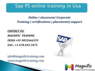 sap ps online training in southafrica