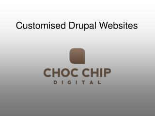 Customised Drupal websites