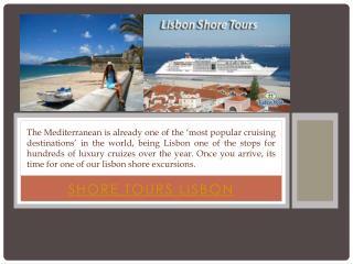 Shore Tours Lisbon