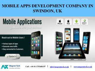Megron Tech: Mobile Application Development Company UK