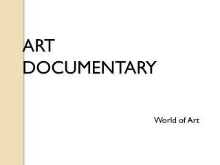 Art Documentary