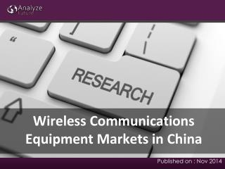 Wireless Communications Equipment Trends, Share