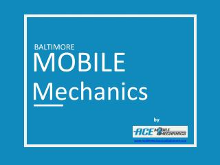 Mobile Mechanic Baltimore