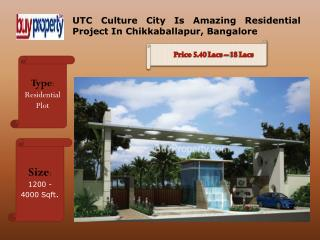 UTC Culture City Residential Project Developed By UTC Group