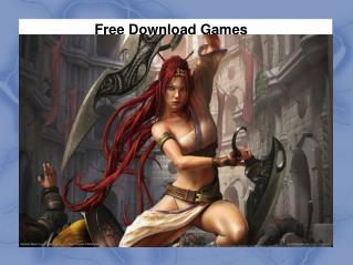 Download Games For Free