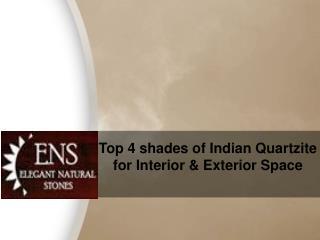 Indian quartzite slabs