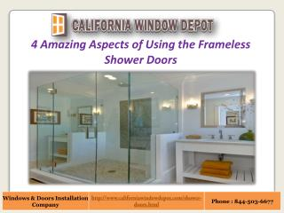Frameless Shower Doors Los Angeles