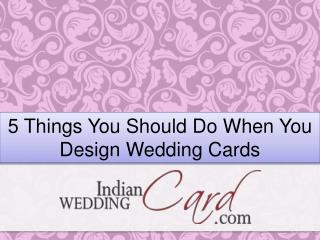 Best indian wedding cards