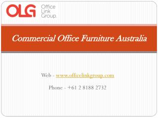 Commercial Office Furniture Australia