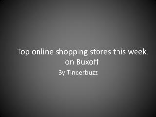 Top trending online shopping stores in America