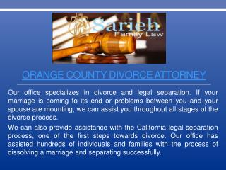 Orange County Divorce