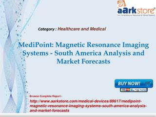 Aarkstore -MediPoint Magnetic Resonance Imaging Systems - So