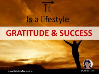 Gratitude & Success: A Daily Journal