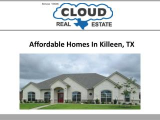 Affordable Homes In Killeen, TX