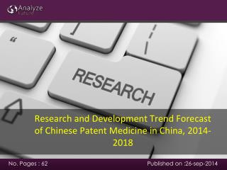 Research and Development Trend Forecast of Chinese Patent Me
