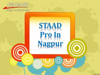Computer Training Institutes STAAD Pro Nagpur,CADDCAMGurur