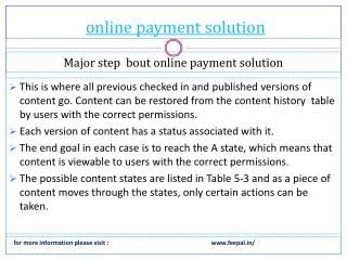 Fee problem with online payment solution