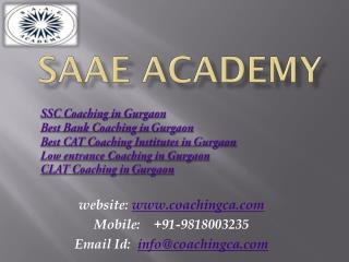 SSC Coaching in Gurgaon