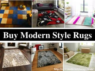 Modern Style Rugs