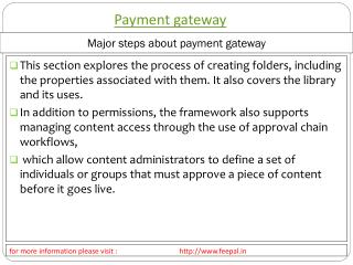 Some popular fact about online payment gateway