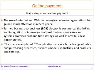 importance of payment online systems