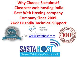 cheapest web hosting india best Web Hosting company