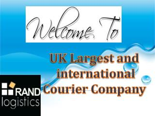 UK Largest and international Courier Company
