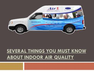Several things you must know about Indoor air quality