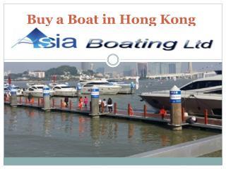Buy a Boat in Hong Kong