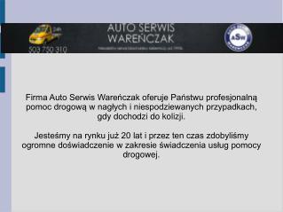 Auto Serwis Wareńczak