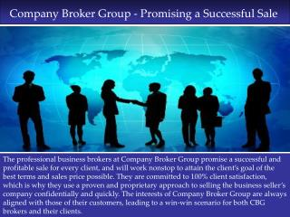Company Broker Group