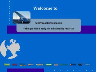 Welcome to BestPriceonCarRental.com